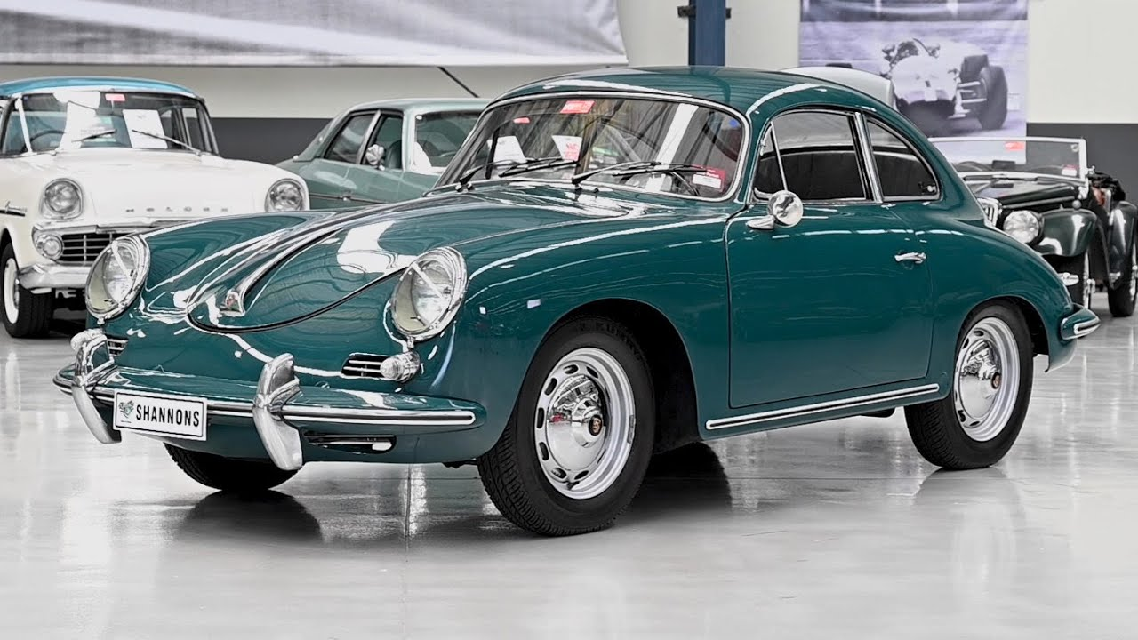 1961 Porsche 356B Coupe (LHD) -  2019 Shannons Melbourne Summer Classic Auction