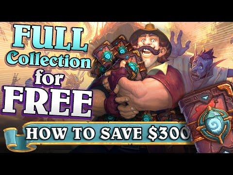 Full  Standard Collection For FREE. How Is This Possible In Hearthstone? How To Get All Cards?