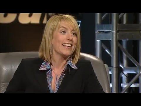 Fay Ripley  and lap  Top Gear  BBC