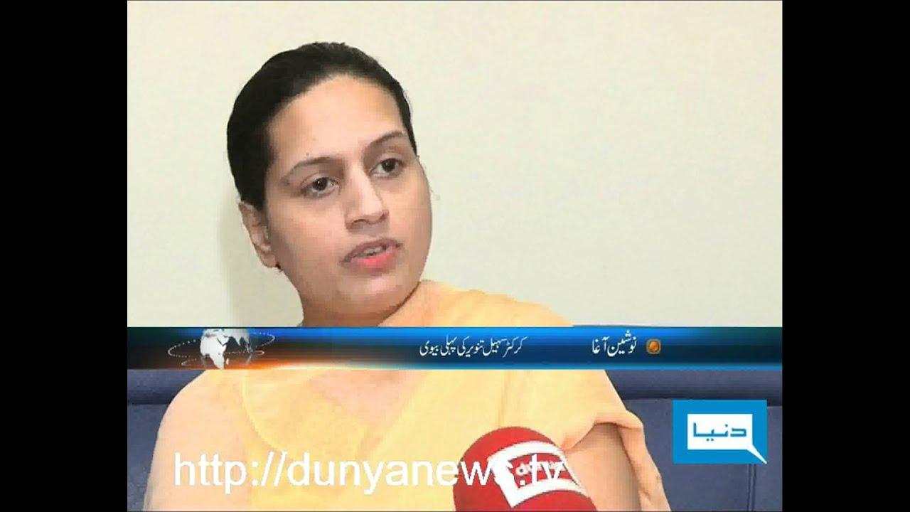 Dunya TV-11-10-2011-Sohail Tanveer' 1st Wife - YouTube