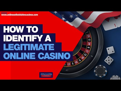 How To Identify A Legitimate Online Casino 🔍🔍 | Best Online Casinos For USA Players