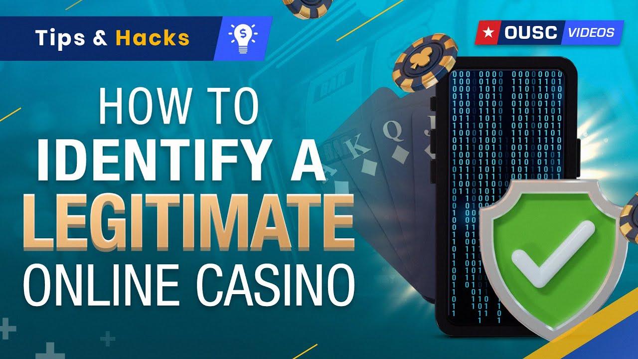 Are Online Casinos Legit