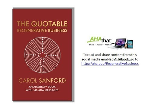 The Quotable Regenerative Business Read and Share via AHAthat