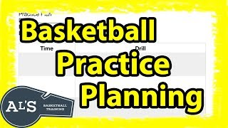 Planning a Basketball Practice | How To Coach Basketball