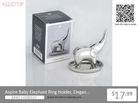 Aspire Baby Elephant Ring Holder/Jewelry Stand From Opentip.com