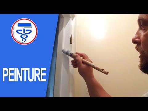 peindre les cadres et les plinthes en bois deco reno. Black Bedroom Furniture Sets. Home Design Ideas