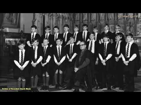"Magnificat ""New College Service"" (Howells): New College Oxford 1967 (David Lumsden)"