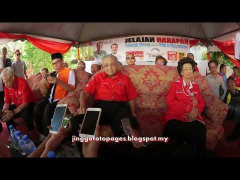 20180310 Sidang Media Dr Mahathir di Tanah Merah
