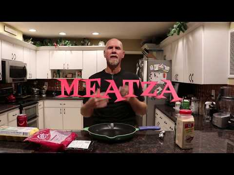 How to make a MEATZA (ground beef pizza crust)