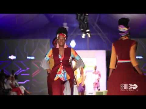 Nackissa (Cote d'Ivoire) @ Accra Fashion Week Chilly Rainy 2018