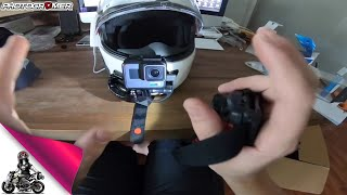 How To  Motovlogger Setup GoPro with Sena
