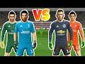 G.Buffon & G.Donnarumma VS De Gea & Thibaut Courtois ● Penalty Shootout ● Dream League Soccer 2018