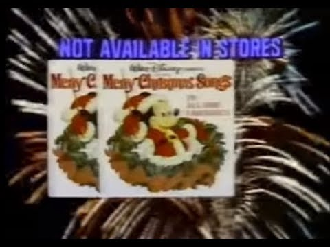 Walt Disney Christmas (Record Offer, 1979)