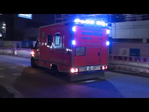 [US BLAULICHT STYLE] 2x BABY NAW BF Hamburg F32 bei Nacht (HD)