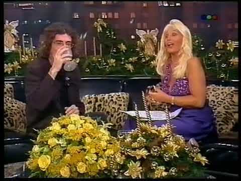 Susana Gimenez entrevista a Charly García, 1995 / Say no more