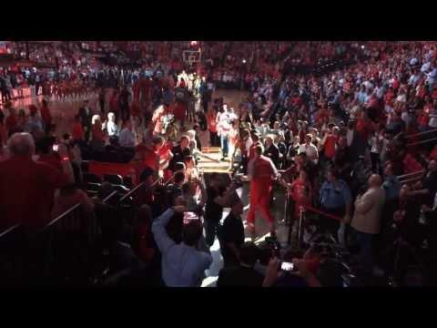 2013-14 Houston Rockets Home Opener Starting Line Up
