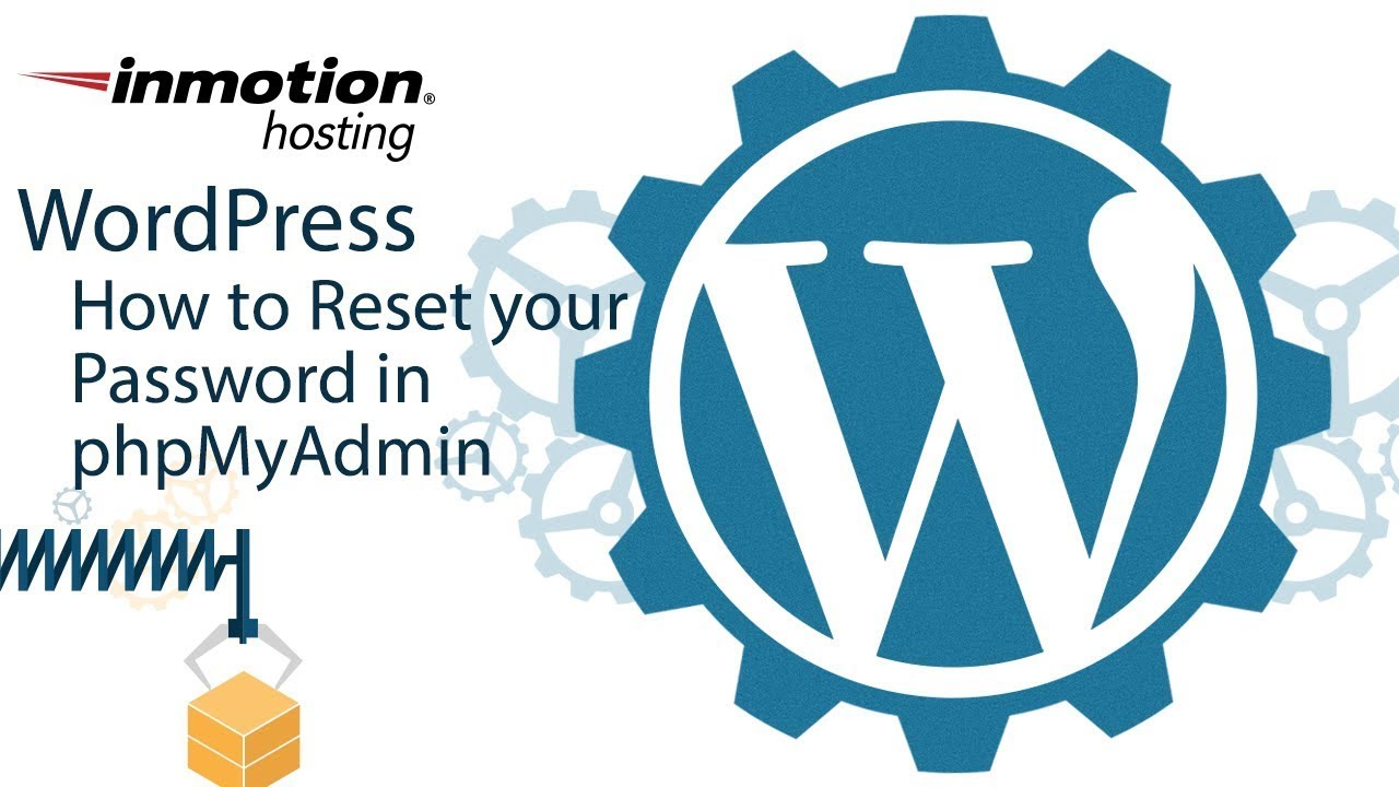 How to Reset your WordPress Admin Password | InMotion