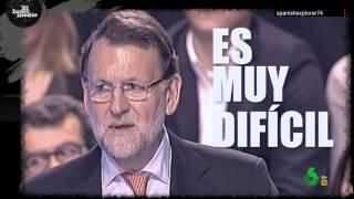 El rap de Rajoy en El Intermedio: