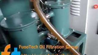 fuootech zyd 50 fully automatic double stage vacuum insulating oil treatment plant