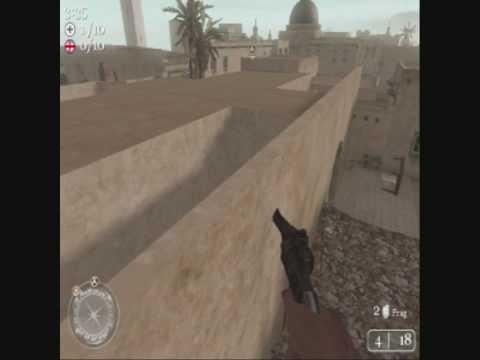 CoD2 Glitch - Tripoli, Libya [OutOfMap]