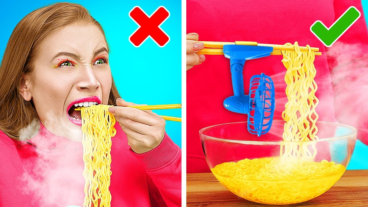SQUID GAME LIFE HACKS    Funny Food Tricks And Challenges! Trying Honeycomb Candy By 123 GO! TRENDS