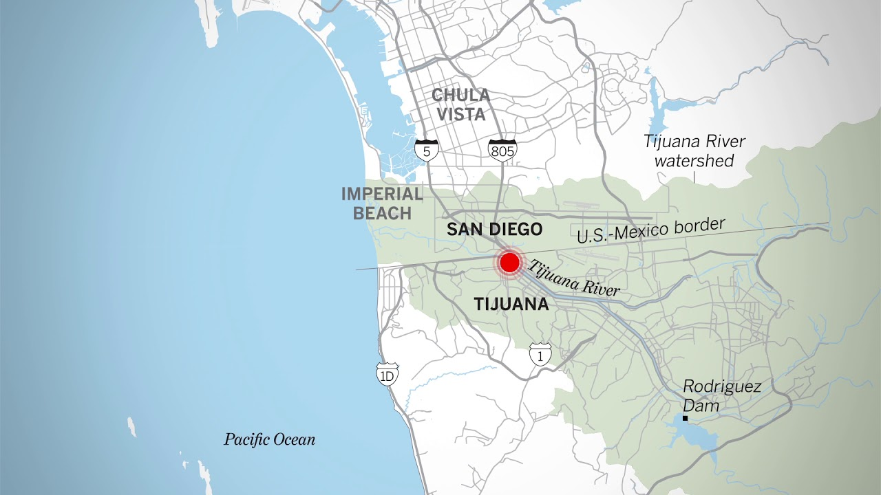 Tijuana sewage spills have been an environmental problem for ... on