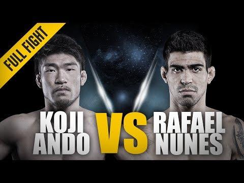 ONE: Full Fight | Koji Ando vs. Rafael Nunes | RNC Locked In Deep | July 2014