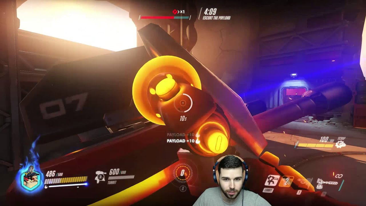 unstoppable turret train torbjorn overwatch youtube