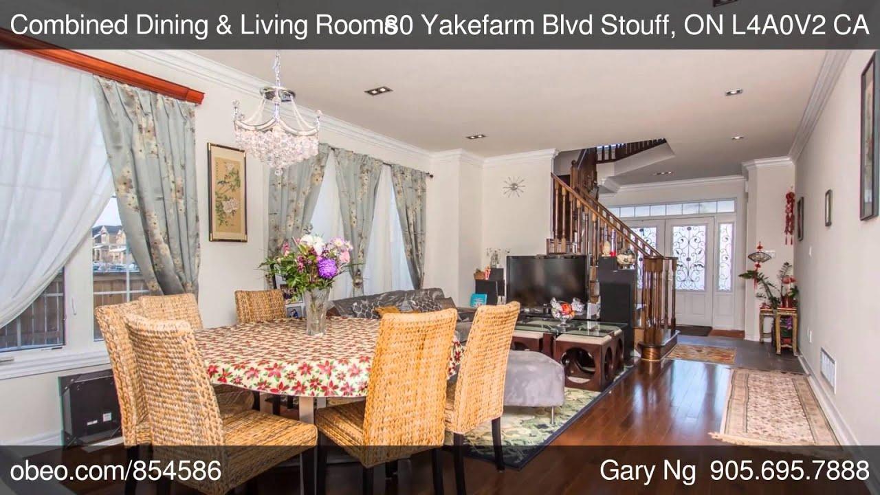 Yakefarm Blvd Stouff ON L4A0V2 Gary Ng Right At Home Realty
