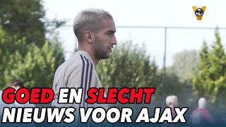 Goed en slecht nieuws voor Ajax  - VOETBAL INSIDE