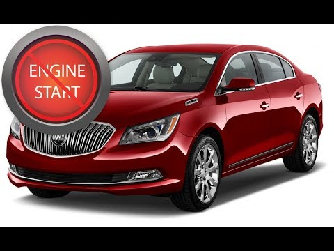 2018 Buick Regal Gs >> Buick LaCrosse: Opening and starting newer push-button start models with a dead key fob battery ...