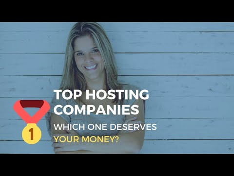 🏌🏌Top Hosting Companies: The Only Ones That Don't SUCK [Updated 2019]🏌🏌