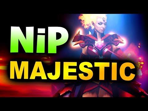 NIP vs MAJESTIC - EU vs SA (PERU) - AMD SAPPHIRE DOTA PIT Minor 2019 DOTA 2
