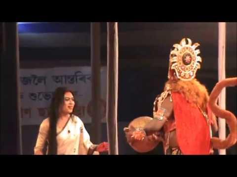 "PART OF BHAONA ( ভাওনা ) ""BHATRI BADHU"" PERFORMED AT TINSUKIA,ASSAM."