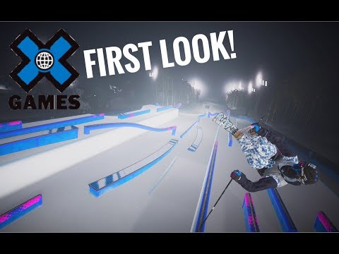 Steep X Games DLC MEGA SLOPESTYLE PARK Gameplay!