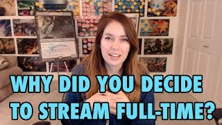 Why Did You Decide To Stream Full-Time? Q&A #1 with Gaby Spartz