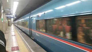 小田急60000形MSEメトロあさぎり号赤坂駅通過