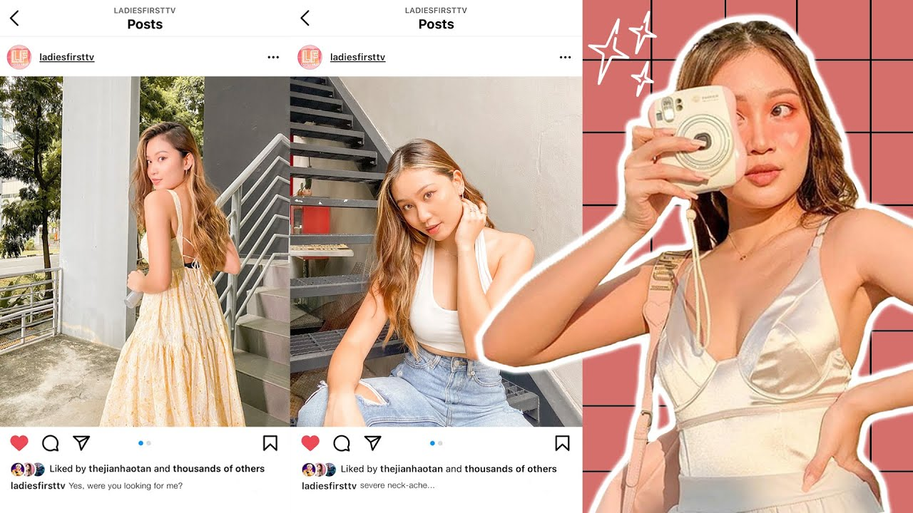 7 Poses For Your Next Instagram Post!
