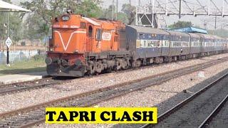 WDM3A Kalinga Utkal Threatens Jan Shatabdi Tapri