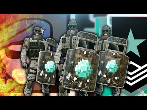 TOXIC SHIELD TEAM SIX - Rainbow Six Siege