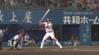 山田哲人第27号決勝ホームラン