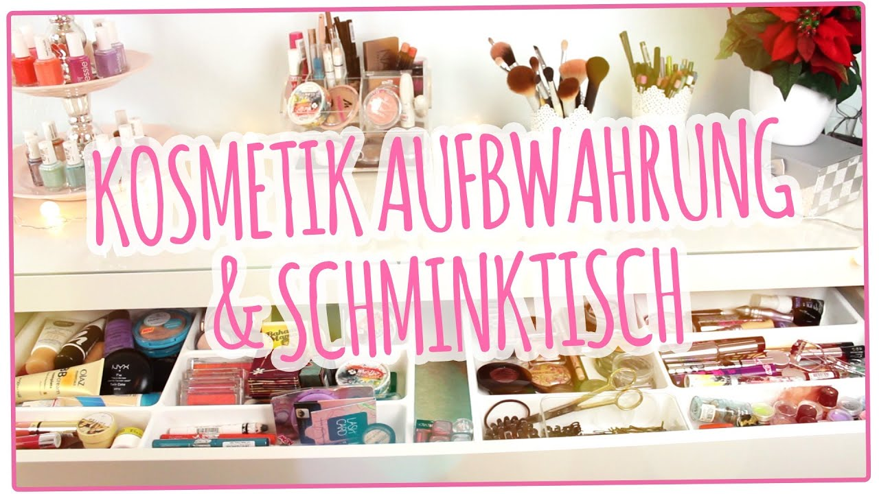 make up sammlung und aufbewahrung youtube. Black Bedroom Furniture Sets. Home Design Ideas