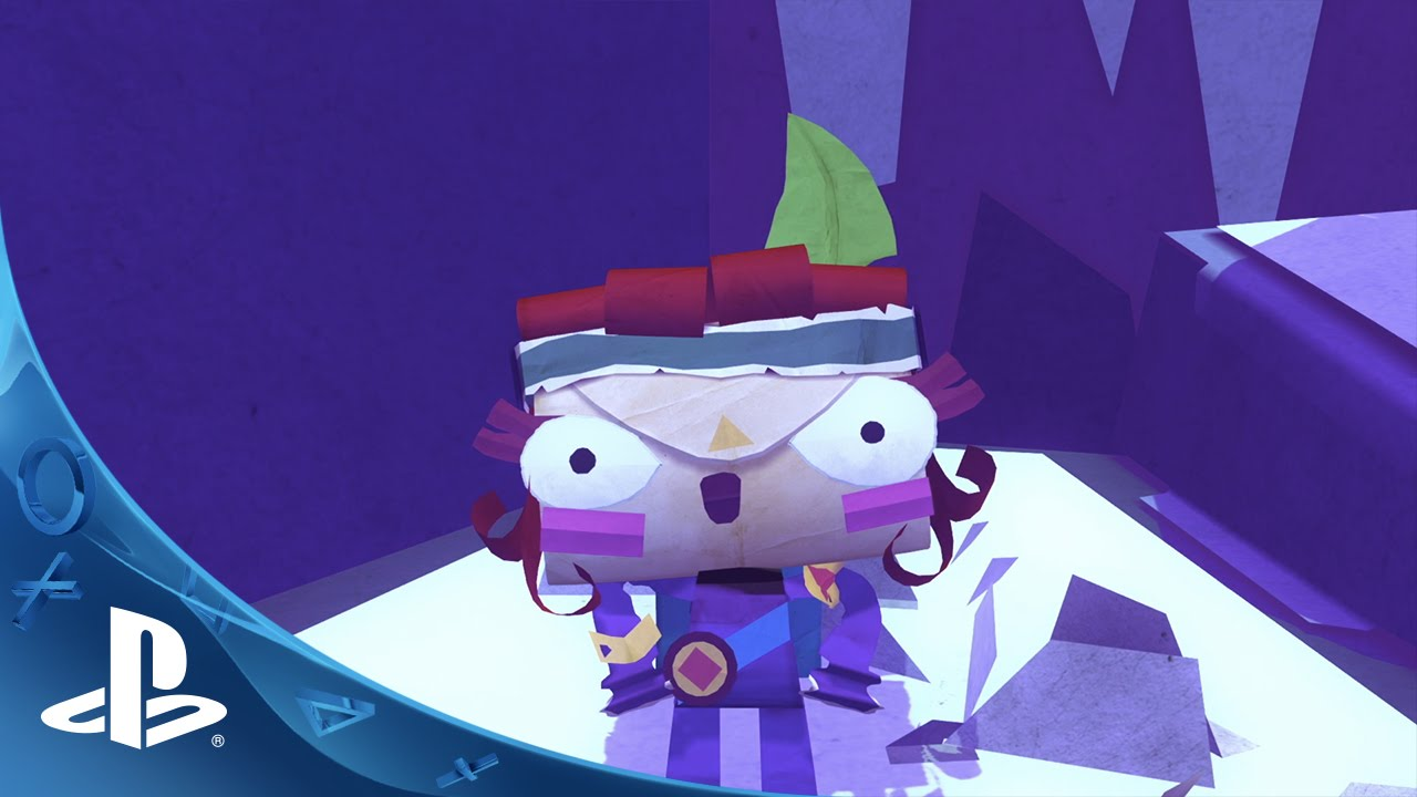Tearaway Unfolded - Gamescom 2014 Trailer | PS4