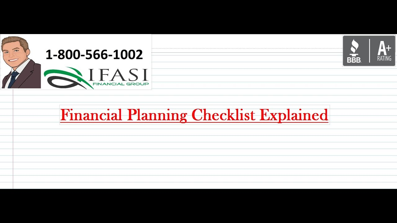 financial planning checklist financial planning checklist review