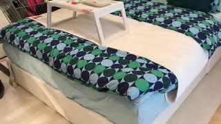 ИКЕА каркас кровати Нордли и обзор спальни
