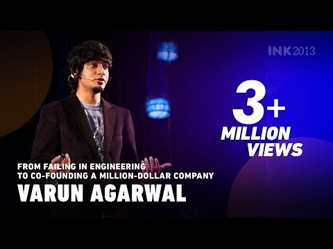 Varun Agarwal: From failing in engineering to co-founding a million-dollar company - INK TALKS