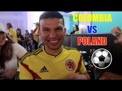 HILARIOUS REACTIONS & HIGHLIGHTS: COLOMBIA VS POLONIA FIFA WORLD CUP