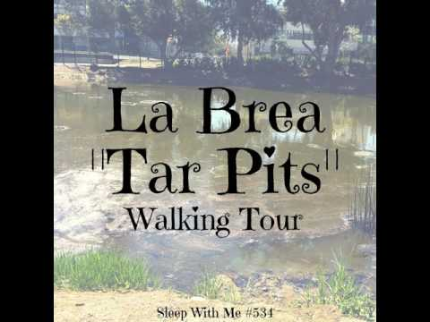 Fall asleep to this audio tour of  La Brea Tar Pits