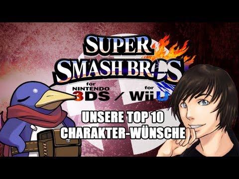 Super Smash Bros WiiU/3DS - unsere Top 10 Charakter-Wünsche (mit Suishomaru) - Online Co-Op