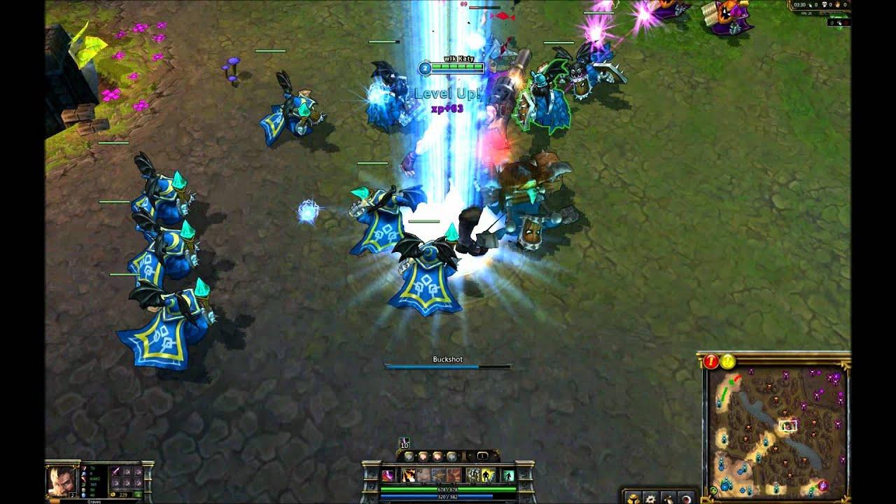 League of Legends: Skin Spotlight - Hired Gun Graves - YouTube